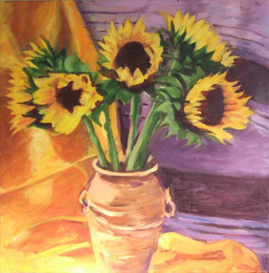 SOLD Sunflowers